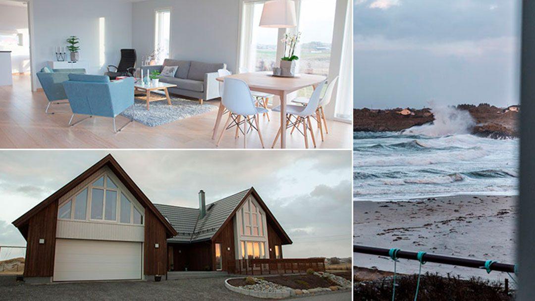 Arkitekttegnet enebolig, Karmøy: Bli med hjem til Berit og Hans Petter på Ferkingstad