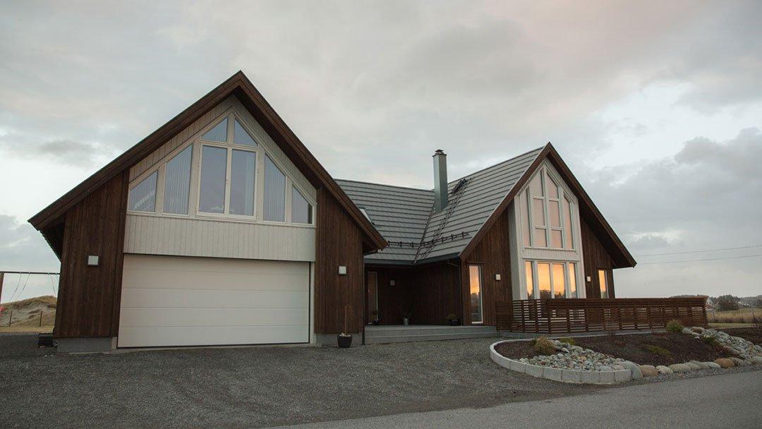 Arkitekttegnet enebolig Karmøy, Ferkingstad
