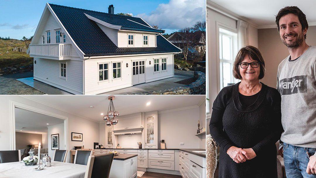 Bli med inn i det nye huset til Vigdis på Ferkingstad