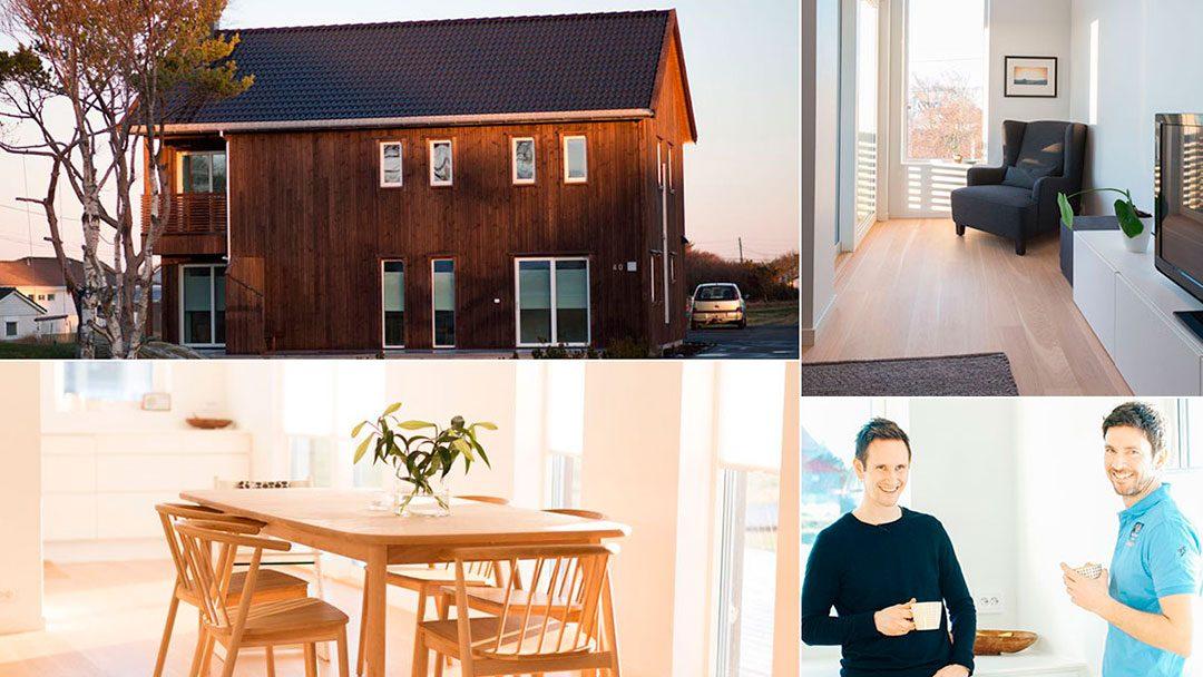 Ny bolig: Bli med inn i huset til Sveinar og Kari-Anne i Åkrehamn