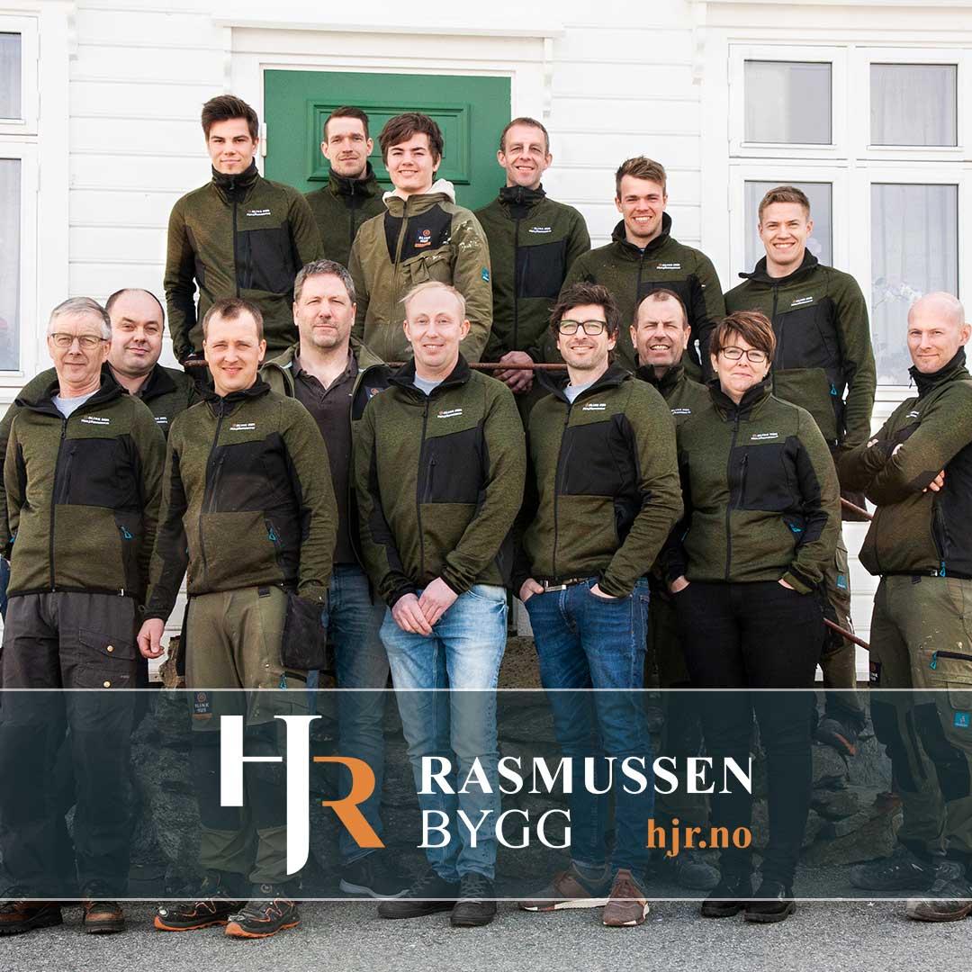 Ansatte i byggefirma Hans J. Rasmussen AS, byggefirma Haugesund, anbefalt byggefirma i Haugesund