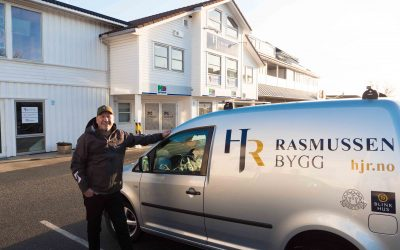 Hans J. Rasmussen AS: Karmøys eldste byggefirma fyller 110 år. Feirer med navnebytte og ny logo