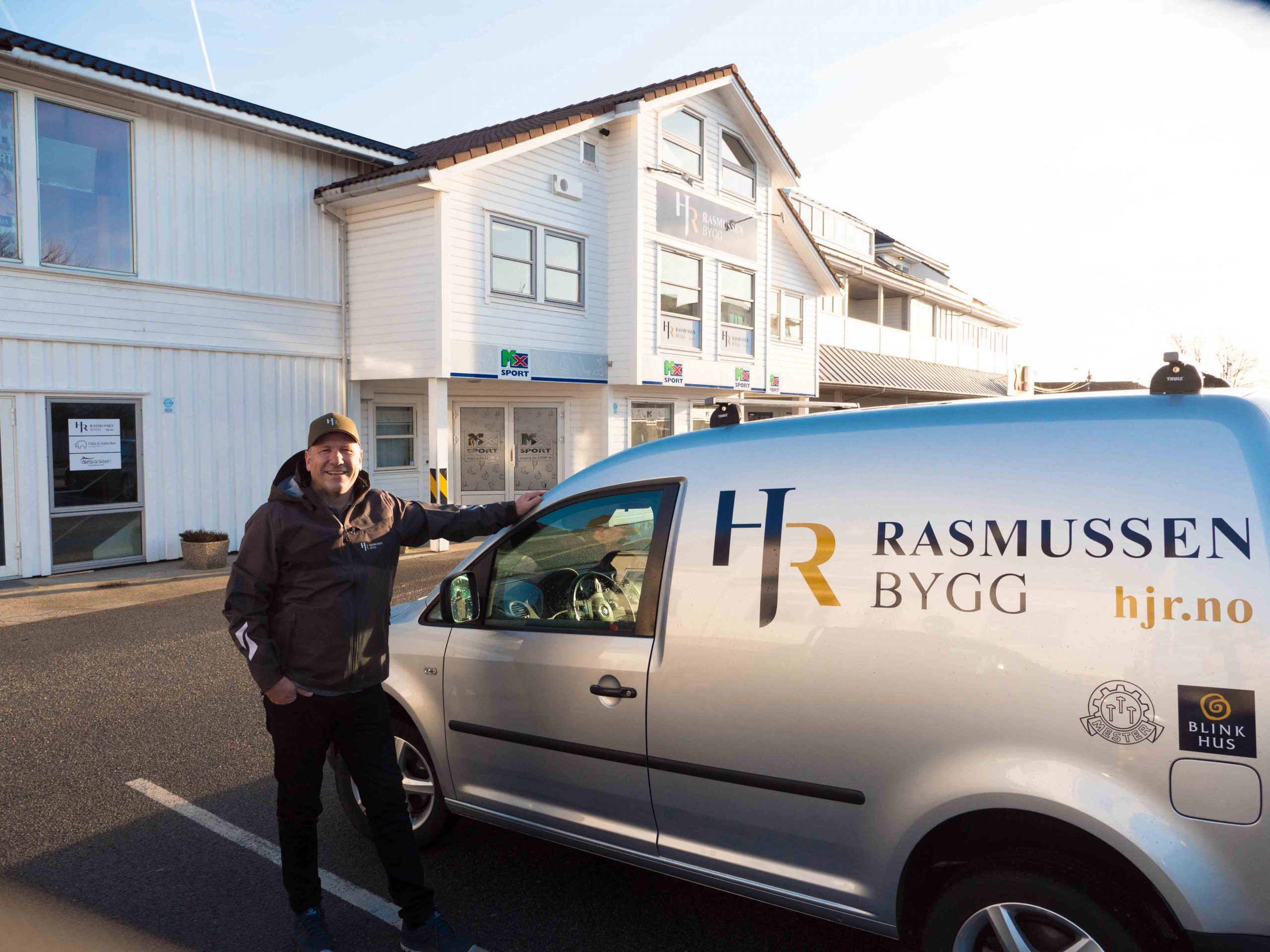 Andor Rasmussen, eier og styreleder i Rasmussen Bygg (tidligere Hans J. Rasmussen)