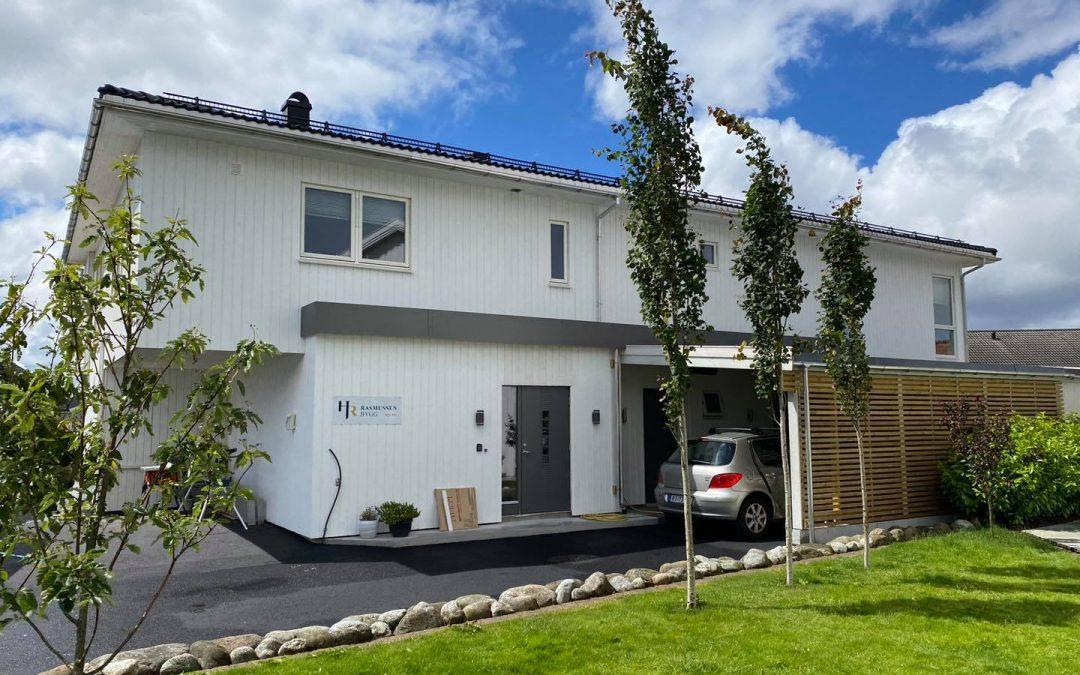 Stort tilbygg i Kopervik