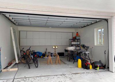 Integrert garasje