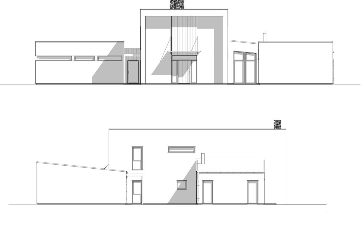 Blink Hus Fasade 3 - 4