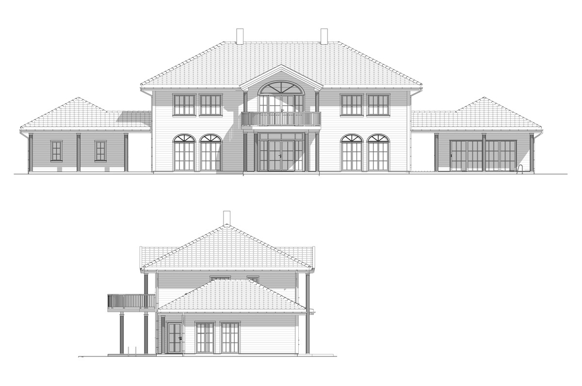 Blink Hus Nesøya fasade 1 og 2