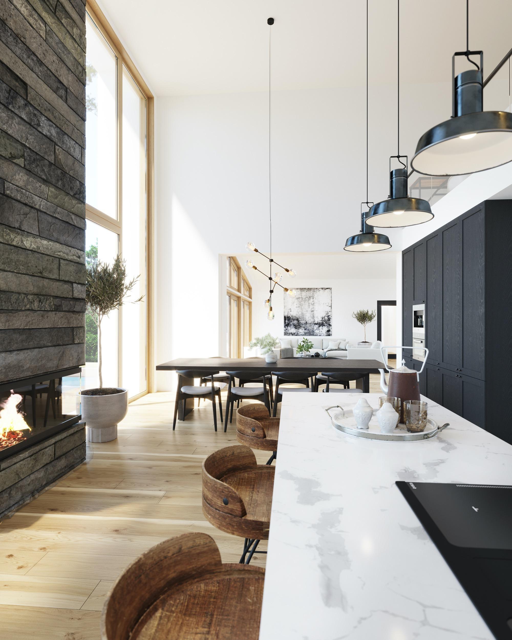 Blink Hus Tromsø kjøkken