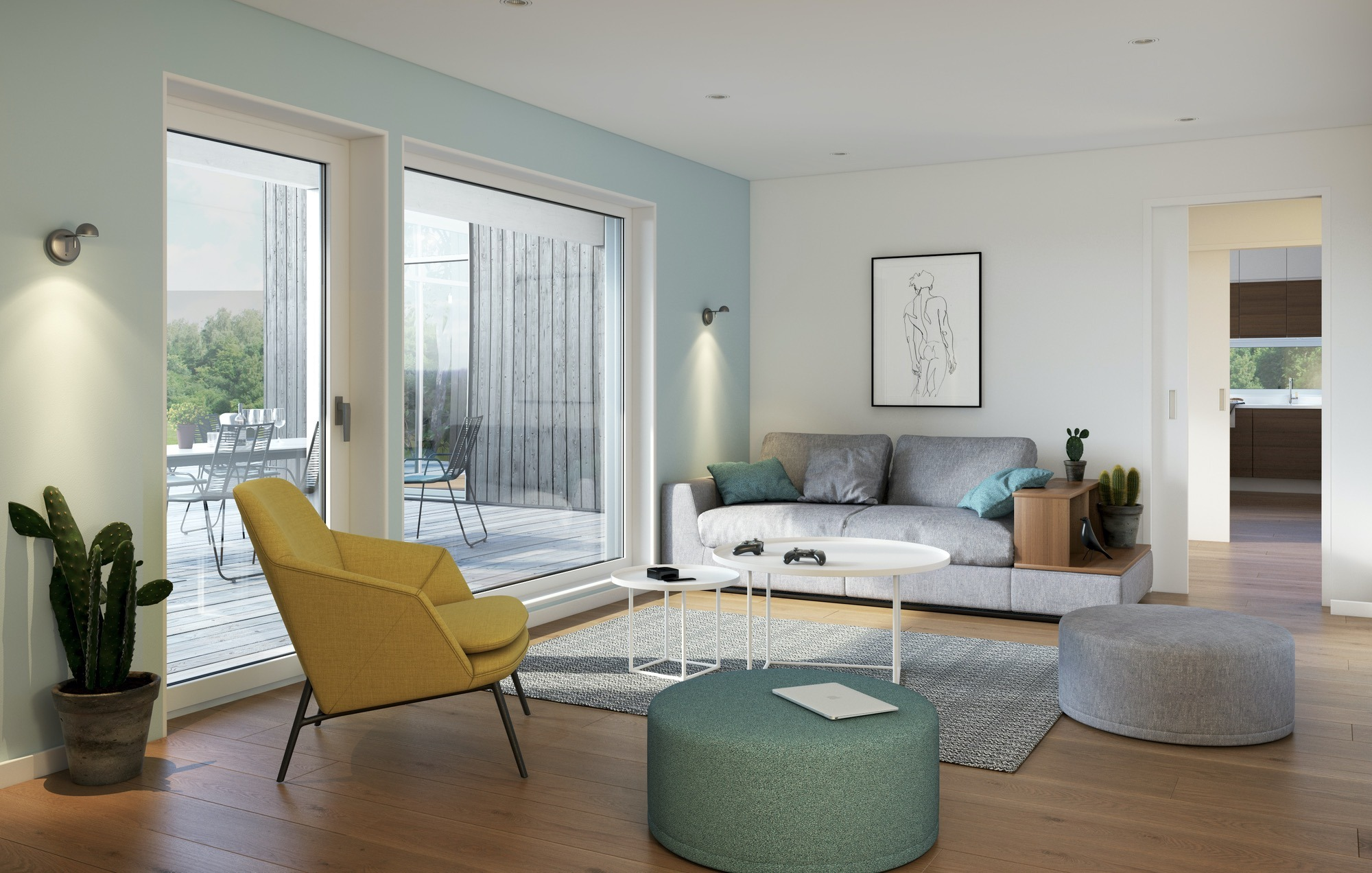 Blink hus Ekeberg stue