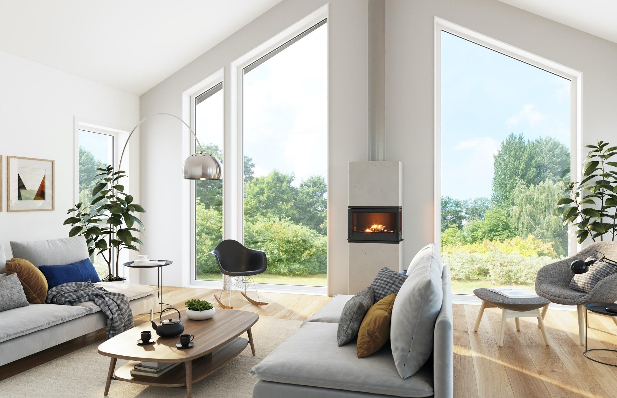 Blink hus Farsund stue
