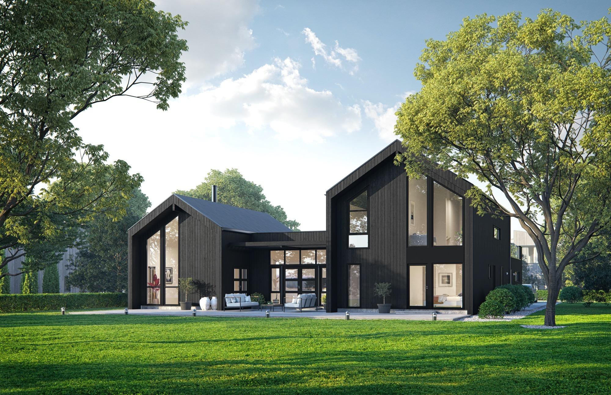 Blink hus Kongsberg hageside