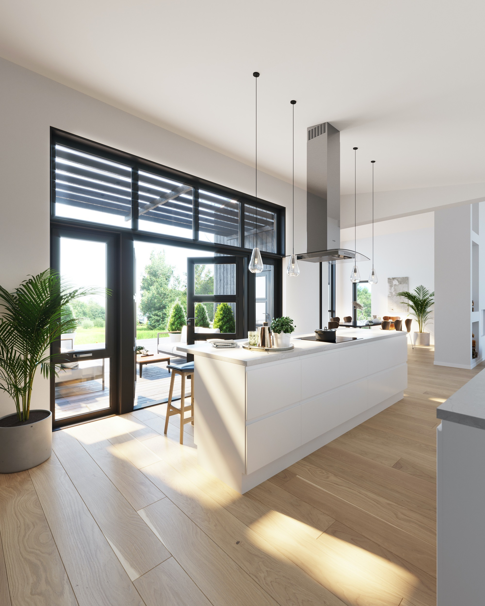 Blink hus Kongsberg kjøkken