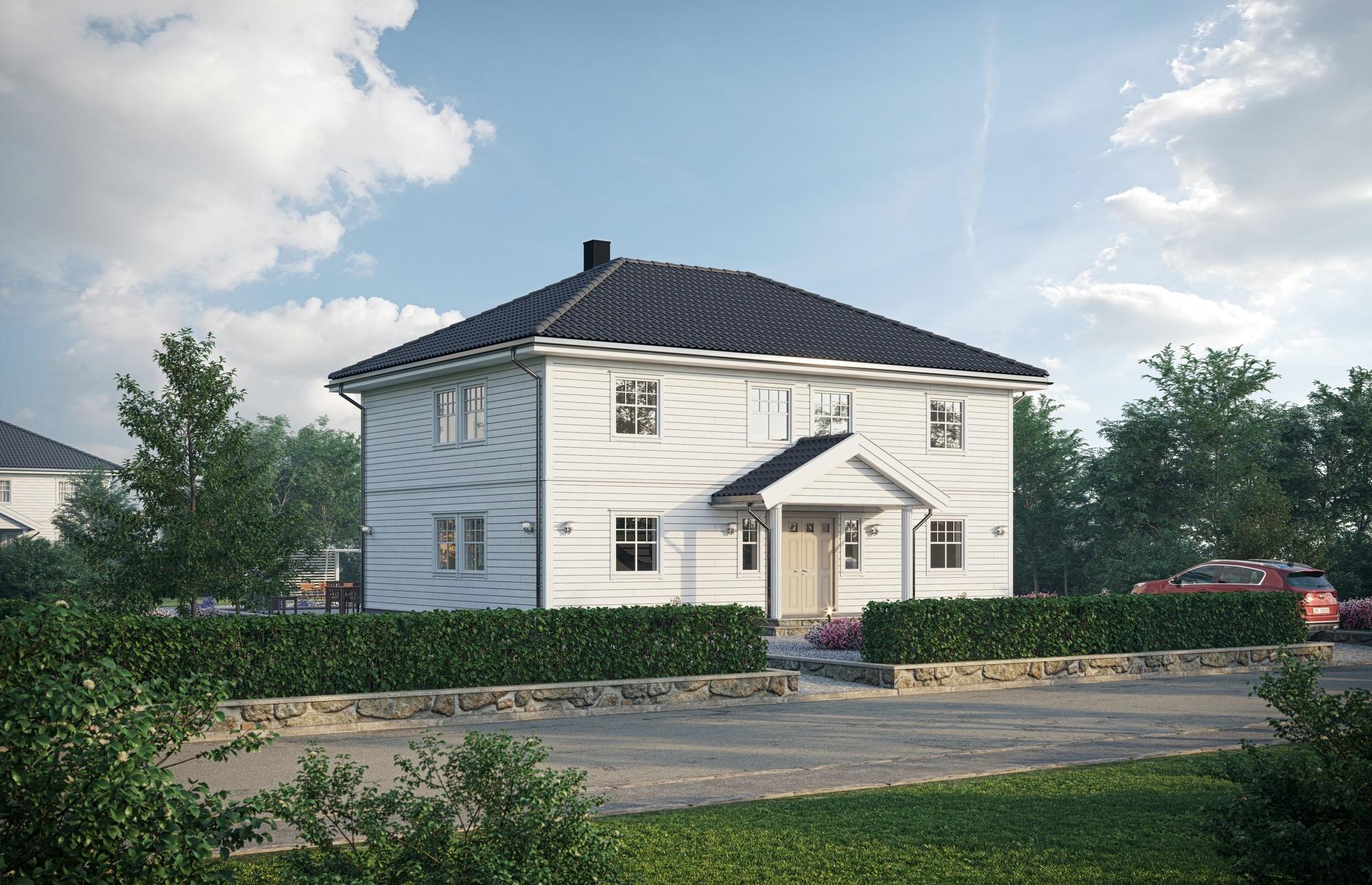 Blink hus Sandviken inngang