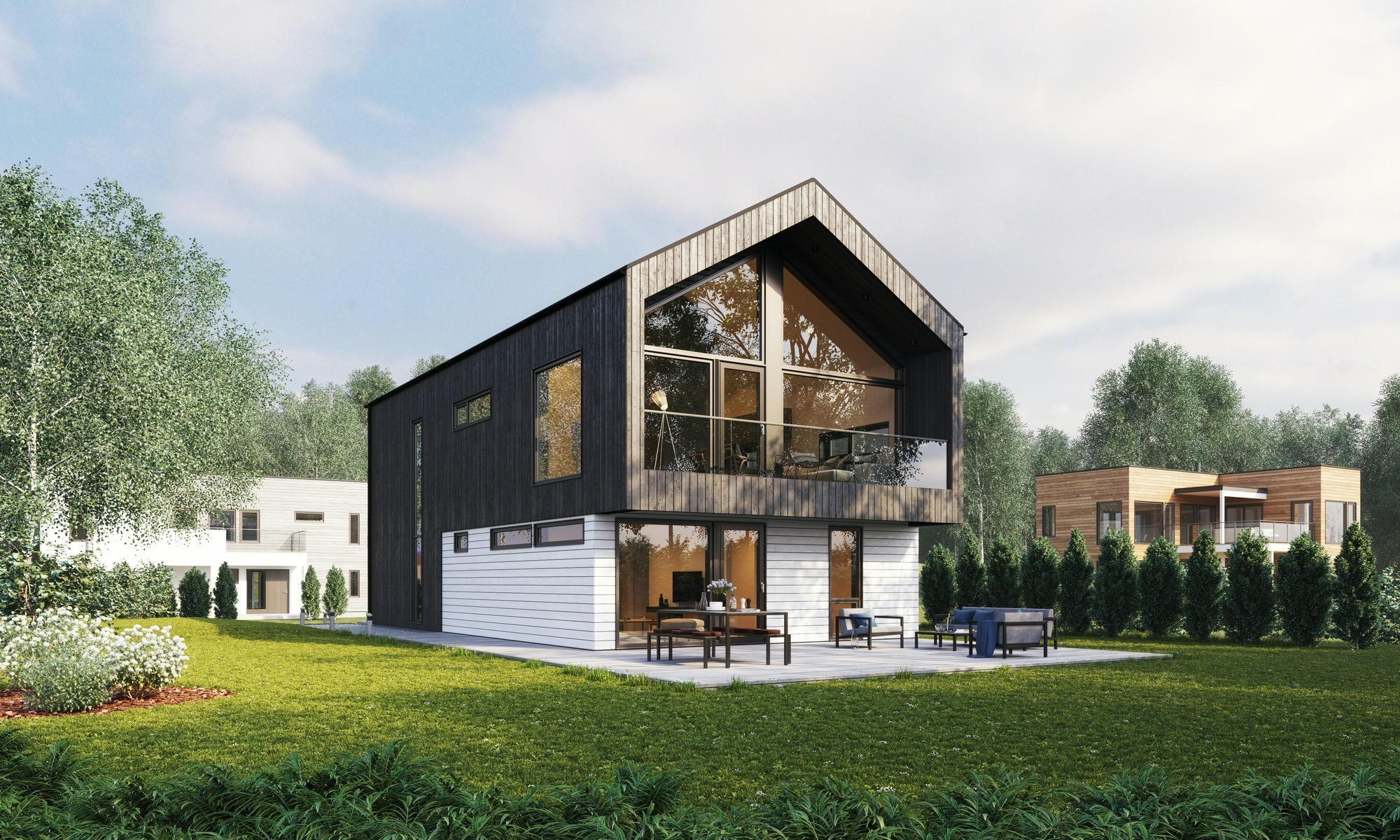 Blink hus Tønsberg hageside