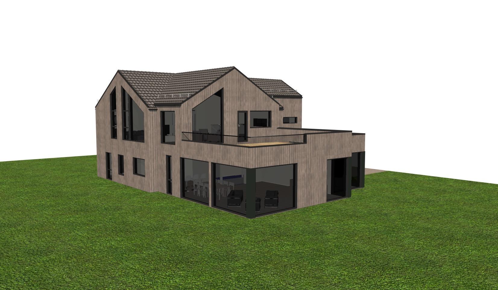 Homrabron fra Rasmussen Bygg - Fasade 1