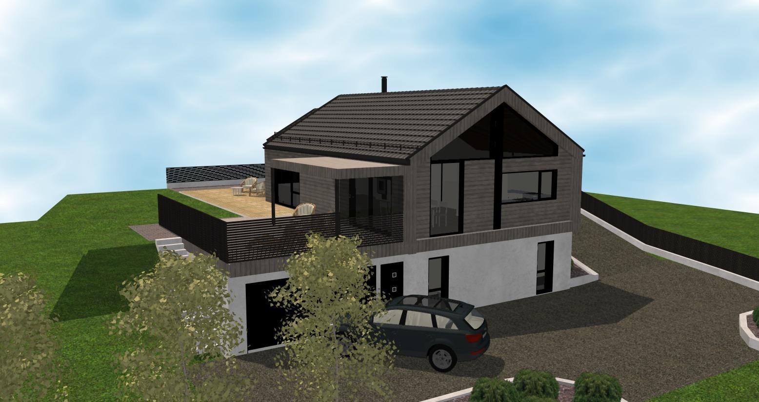 Gjerde - Fasade 1