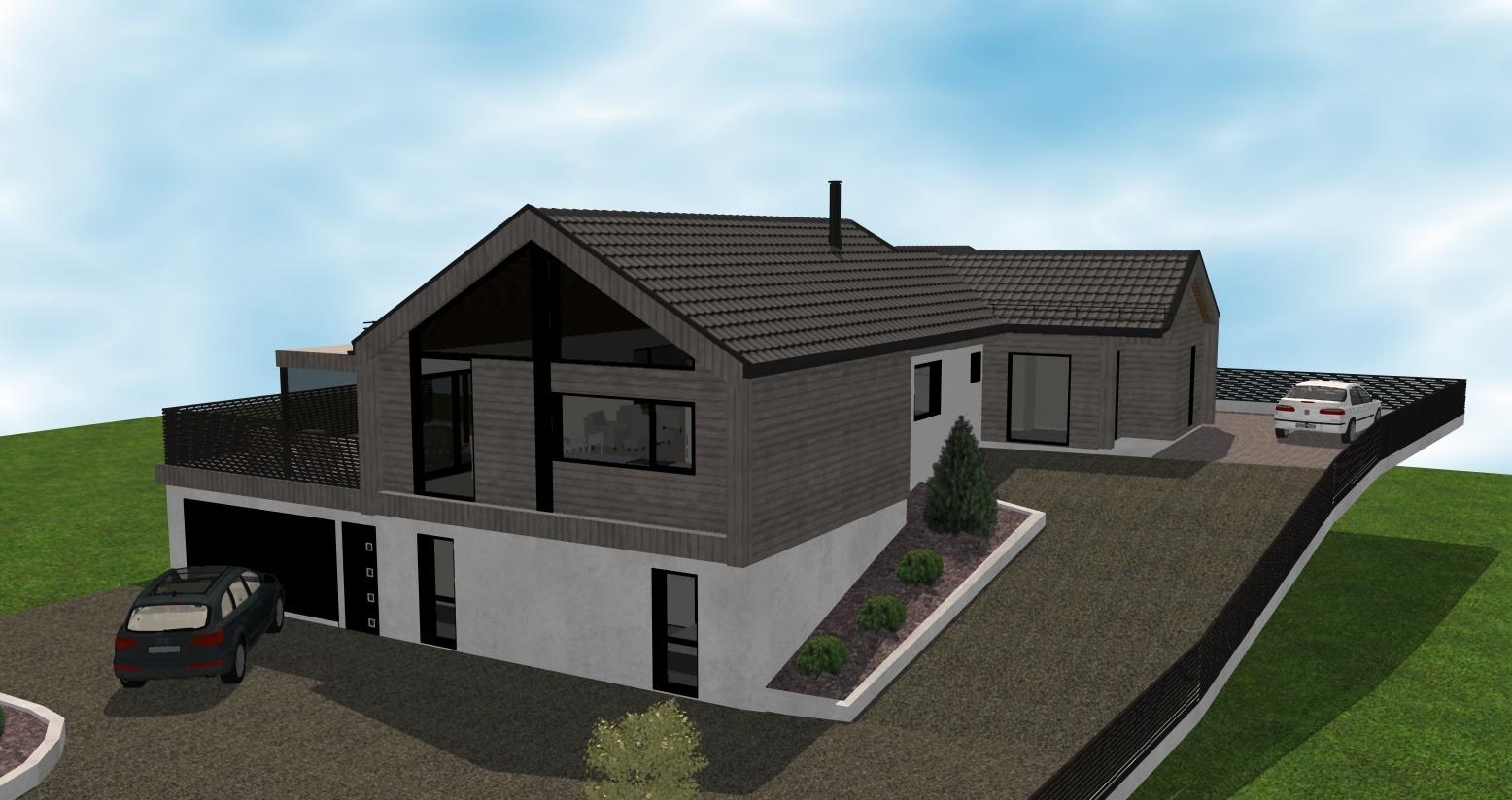 Gjerde - Fasade 2