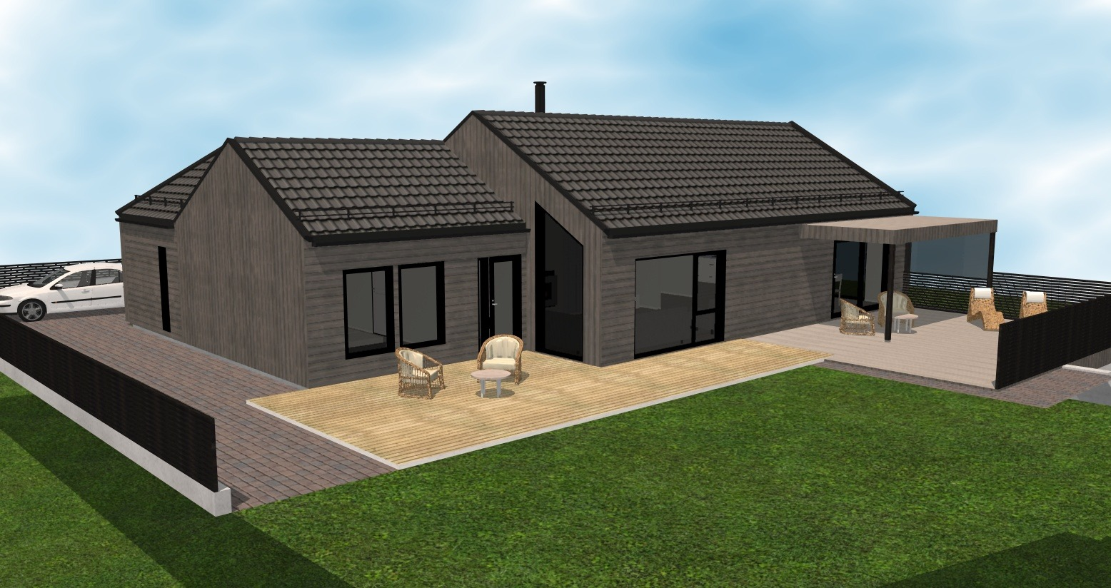 Gjerde - Fasade 3