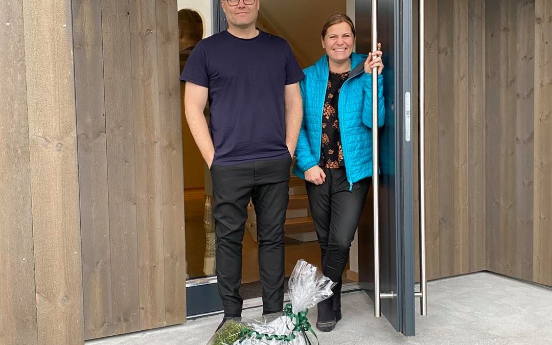 Moderne enebolig på Salvøy for familien Jørgensen
