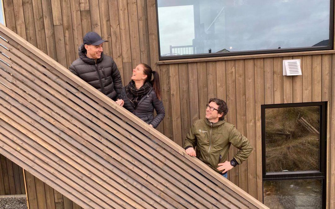 Knalltøff moderne enebolig på Vea for Anita og Halvar